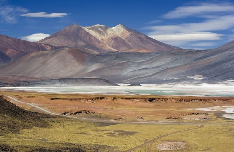 Northwest Of Argentina With San Pedro De Atacama In Chile