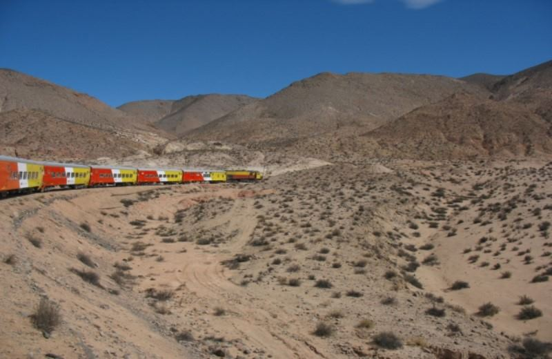 Tren A Las Nubes Ida
