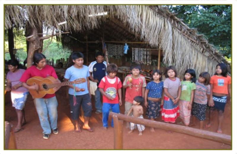 Aldea Guarani Fortín Mborore