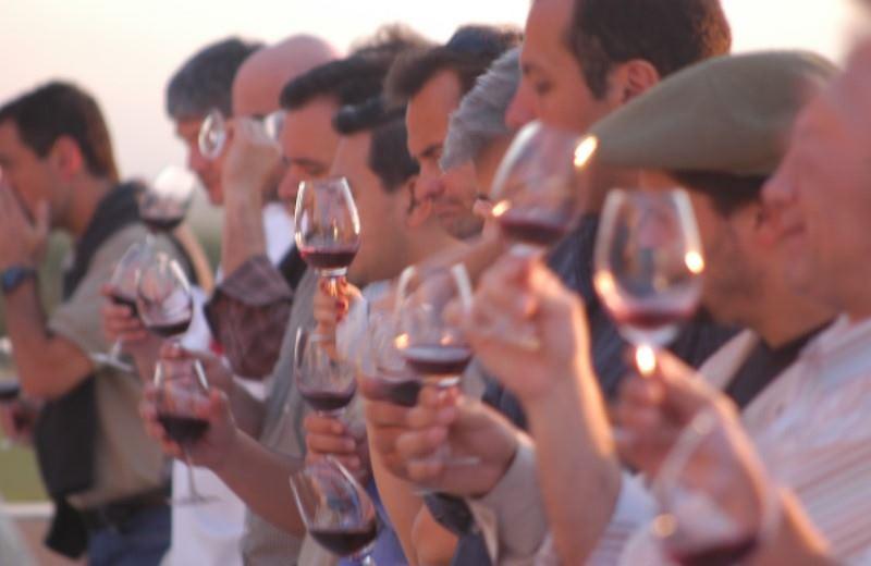 Wine Tasting In Cellar