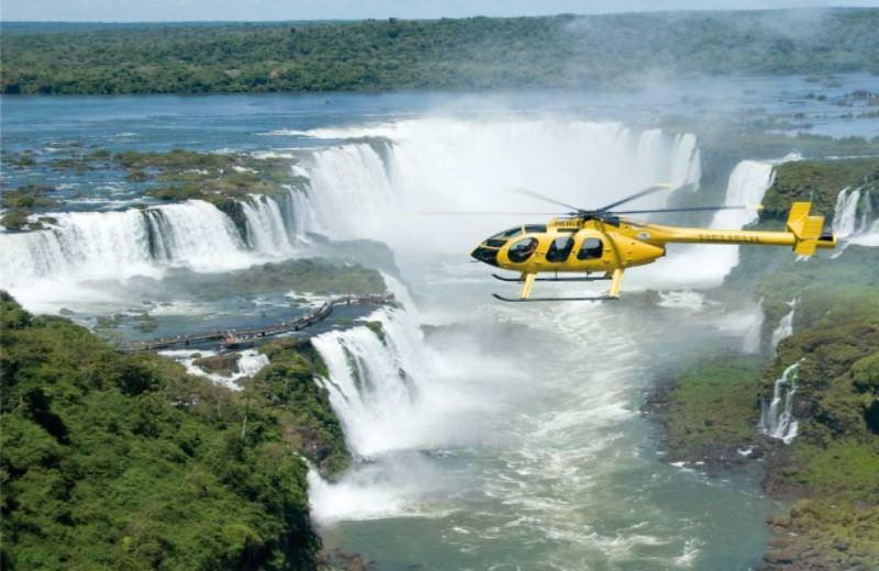 Vôo de helicóptero No Iguazu