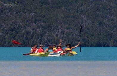 Excursión Kayak Lago Nahuel Huapi - 4 Días