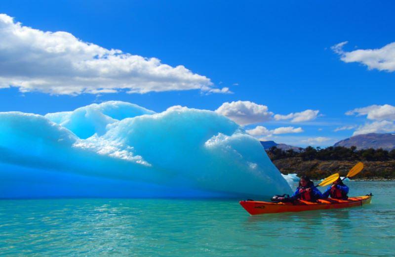 Experiencia En Kayak En El Glaciar Upsala