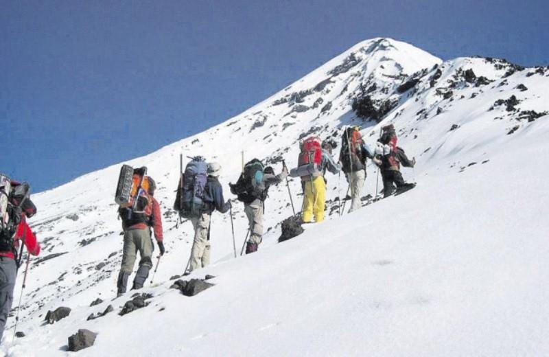 Trekking Ascenso Refugio Volcan Lanin