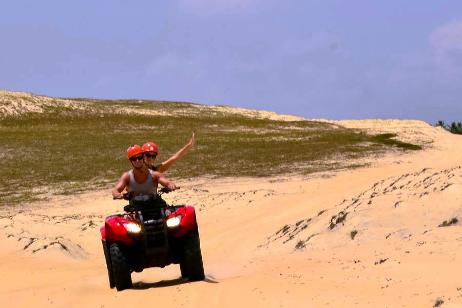ATV Tour in Barra do Cunhaú with Tree Climbing