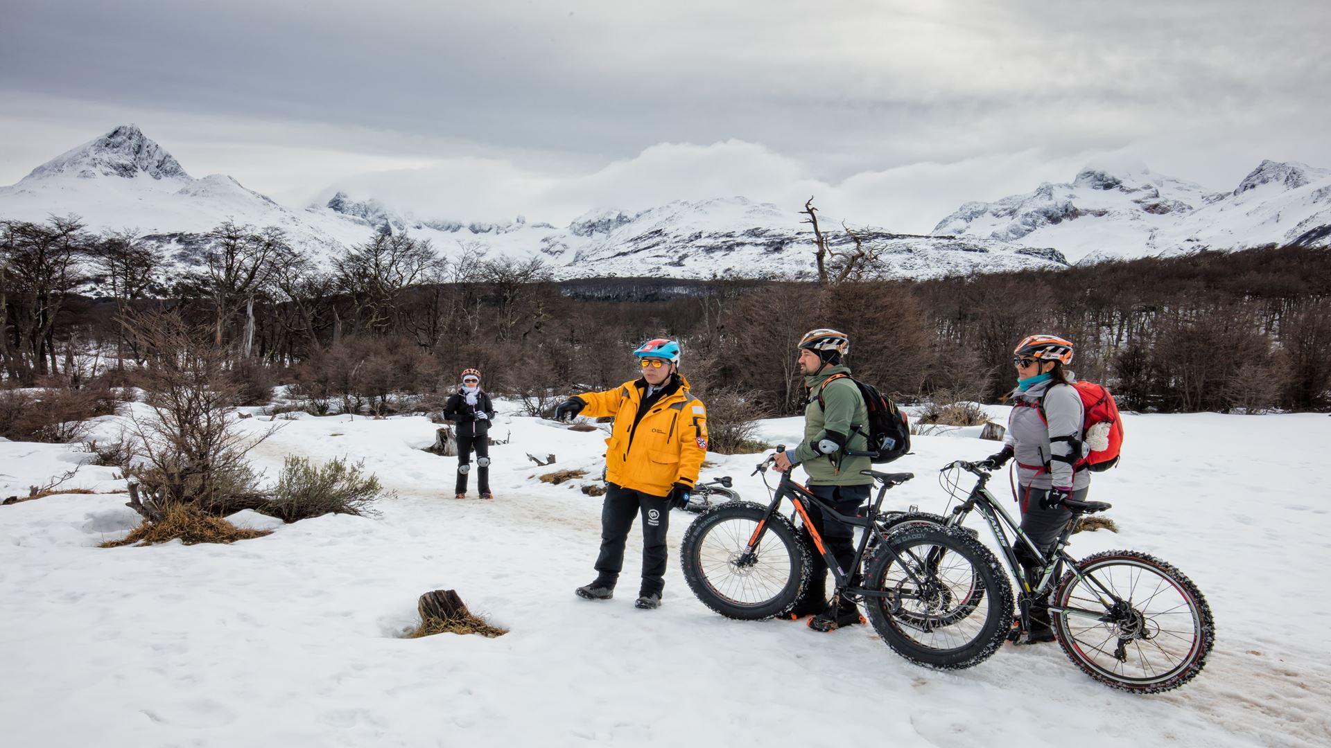 Bicicletas de gelo