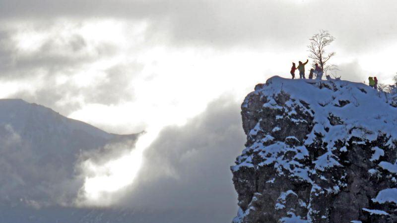Caminhada Com Raquetes De Neve Em Valle Escondido