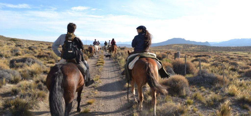 Cavalgada em San Martín de Los Andes