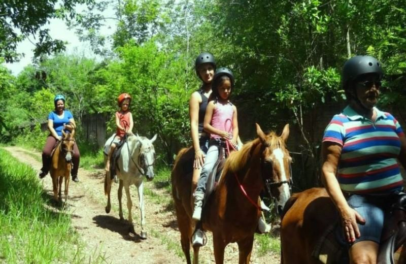 Horseback Riding At Recanto Do Peao