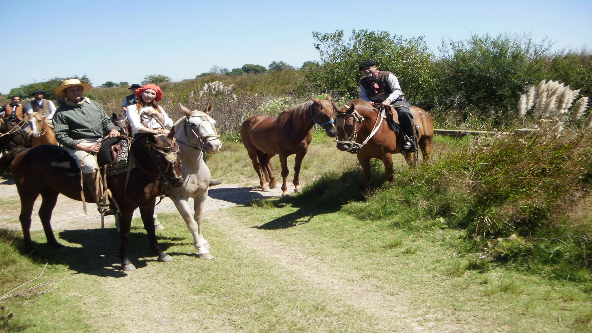 Horseriding And Gaucho Lunch In The Argentina Pampas