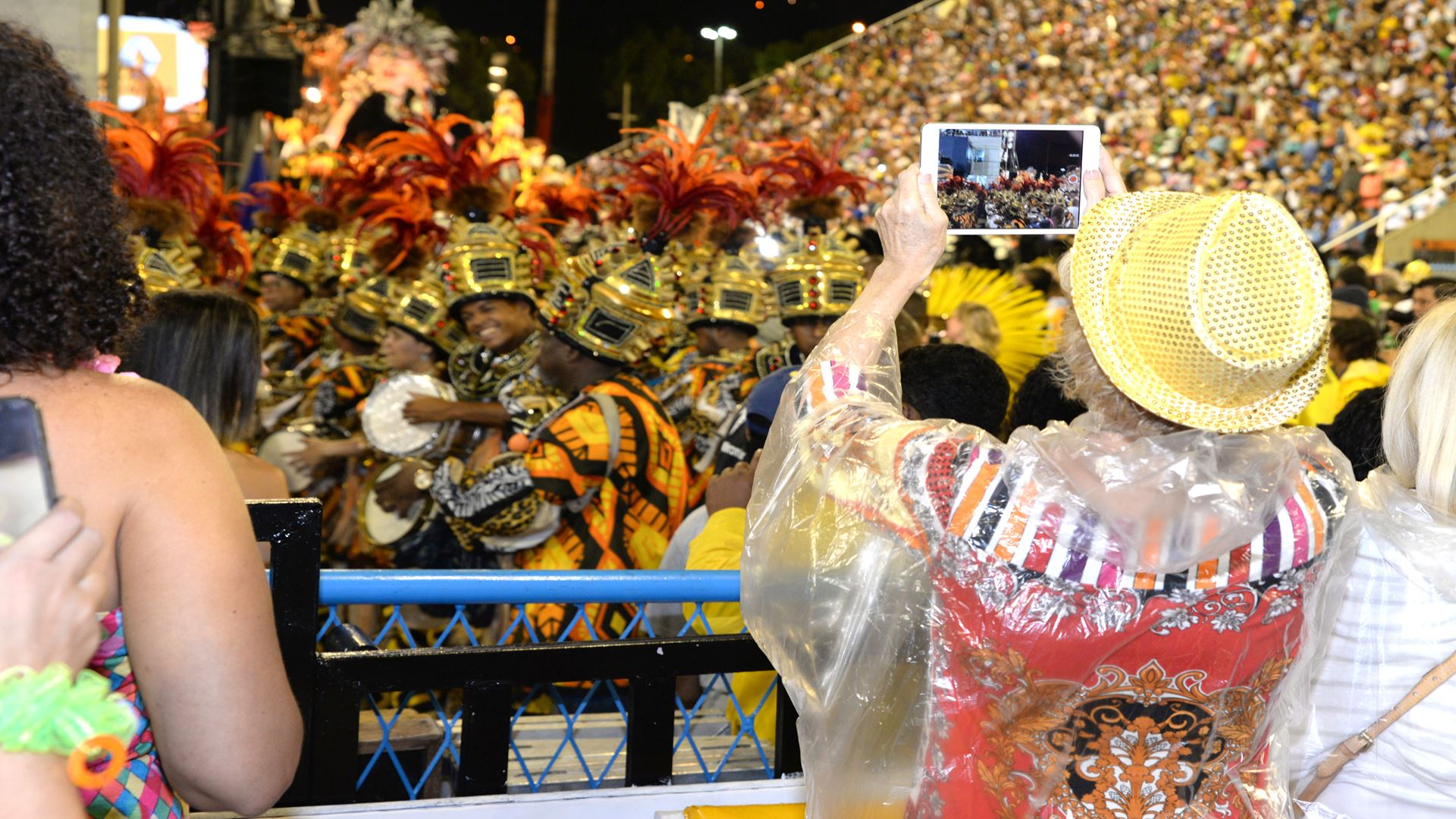 Carnival in Rio de Janeiro with Front Box Ticket in Sector 7