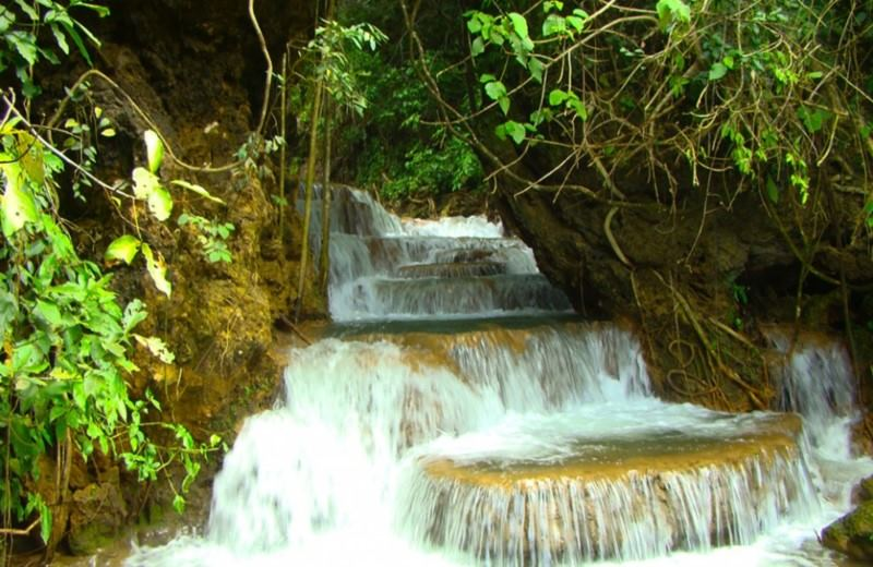 Boca Da Onca Waterfalls