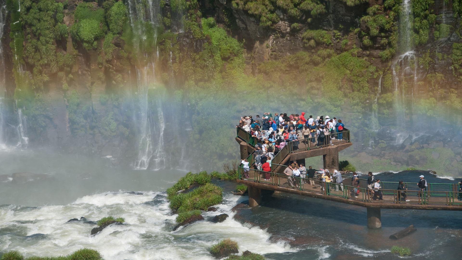Cataratas Brasileiras com Parque das aves