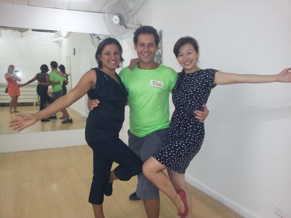 SAMBA DANCE LESSON
