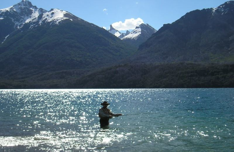 Full Day Fishing Trip on the Manso River, Hess Lake or Los Moscos Lake