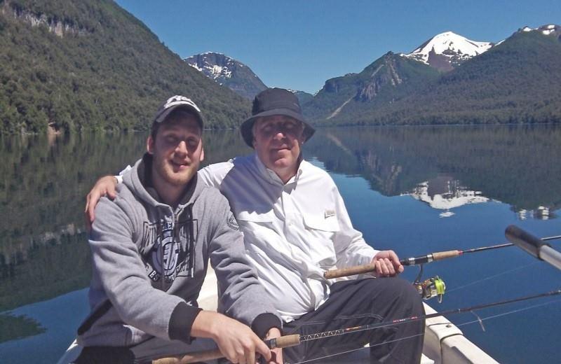 Full Day Fishing trip on the Nahuel Huapi, Moreno or Gutiérrez Lakes