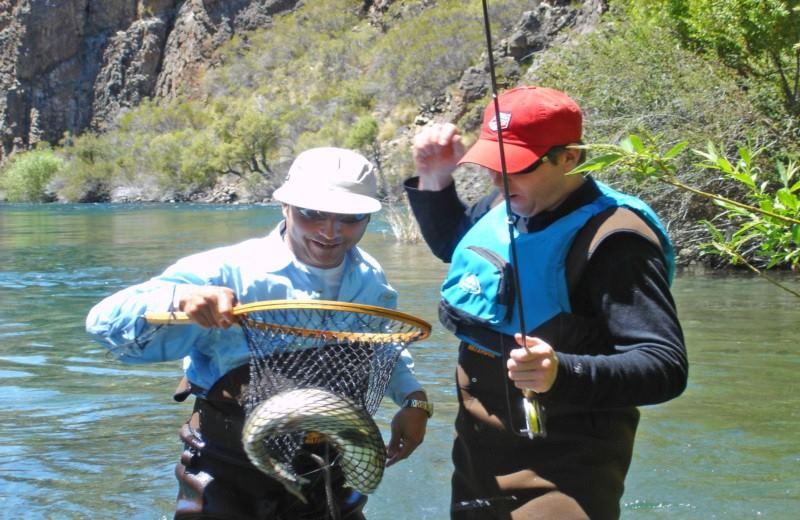 Dia de Pesca nos Lagos Nahuel Huapi, Moreno ou Gutiérrez.