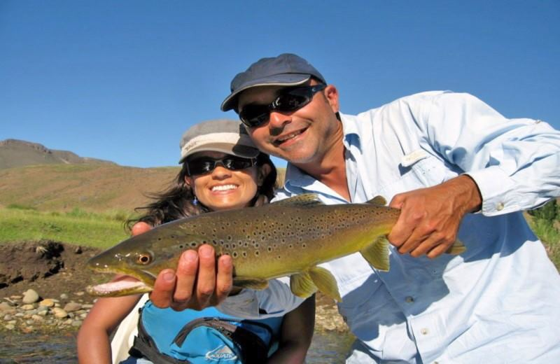 Full Day Flyfishing or Spinning in the Pichi Leufú River