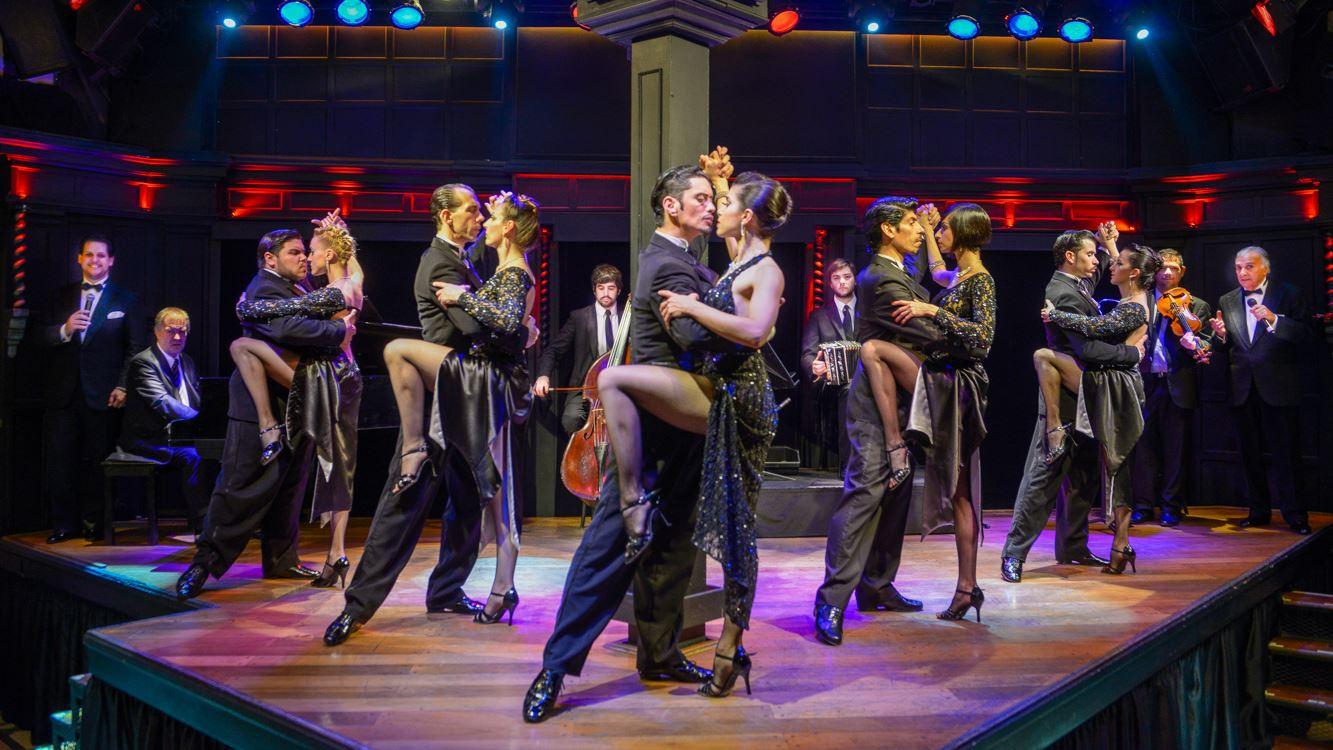 Festa e Jantar de Réveillon + Show de Tango