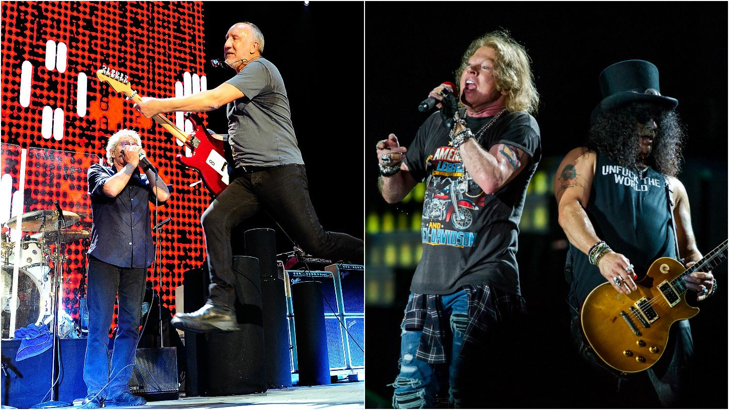 Guns N' Roses + The Who - Estadio La Plata