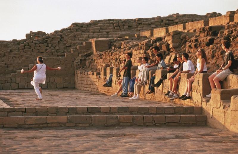 Pre Inca Temple Of Pachacamac