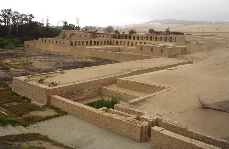 Templo Pré-Inca De Pachacamac