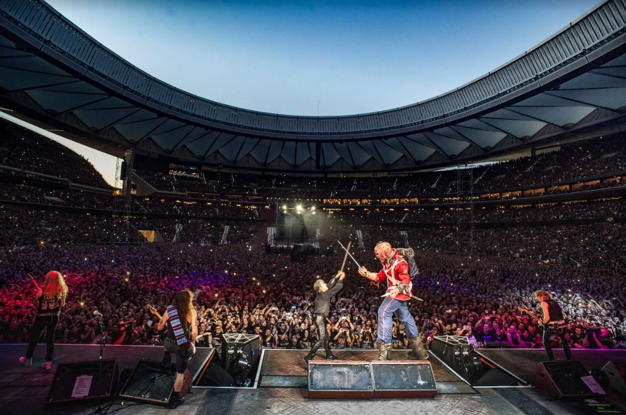 Iron Maiden - Estadio Velez Sarsfield