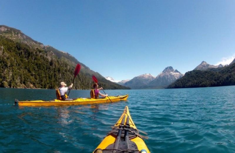 Kayaking At Lago Gutierrez