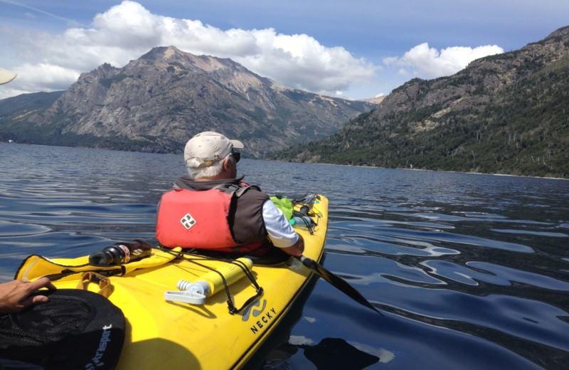 Kayak Lago Nahuel Huapi Medio Dia