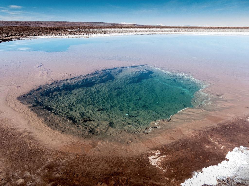 Hidden lagoons of Baltinache