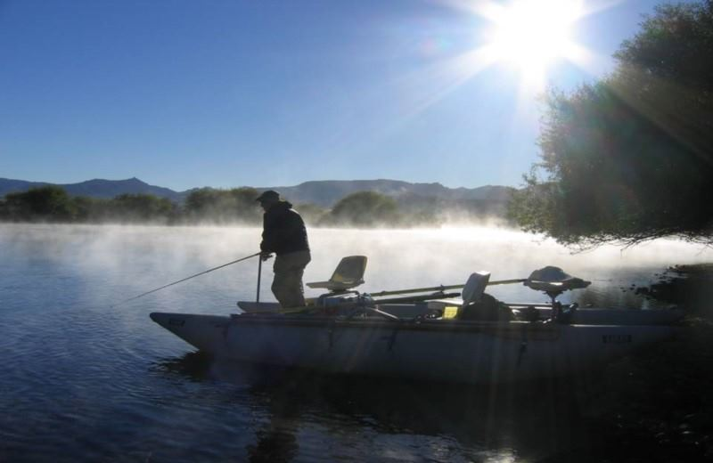 Half Day Flyfishing or Spinning in the Limay River