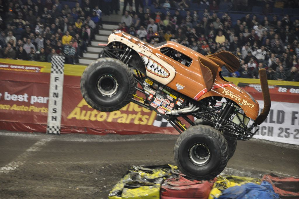 Monster Jam - La Plata Stadium