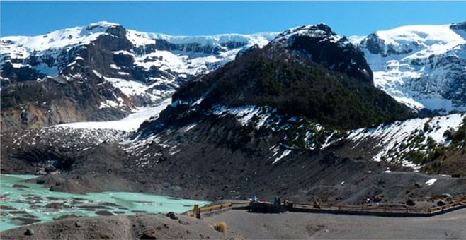 MOUNTAINS AND GLACIERS OF MOUNT TRONADOR