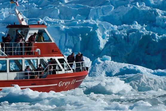 Navegacion Al Glaciar Grey