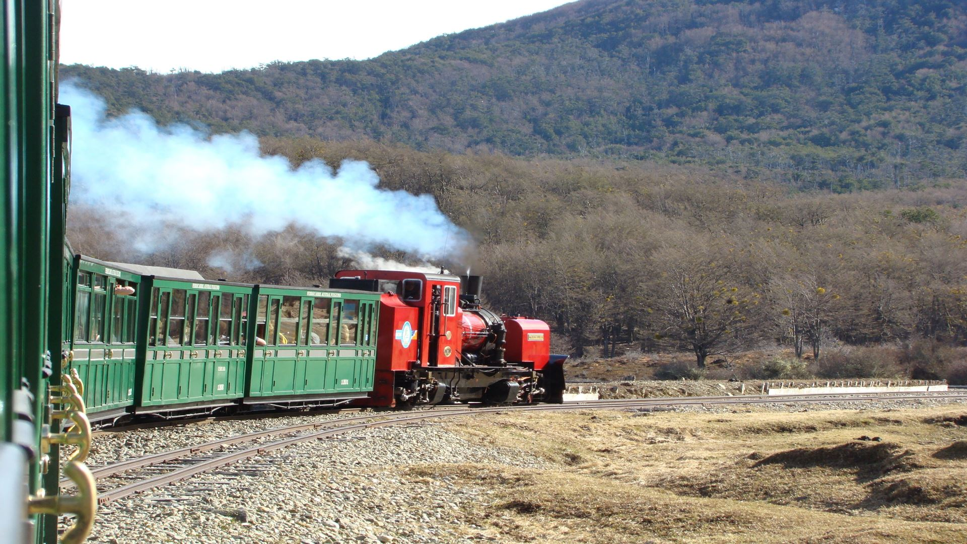 National Park With Train End Of The World