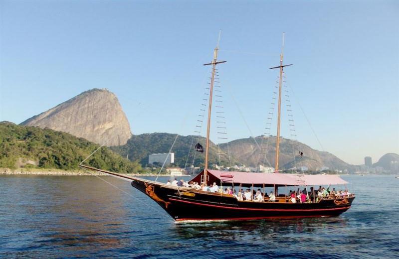 Baia De Guanabara Em Barco