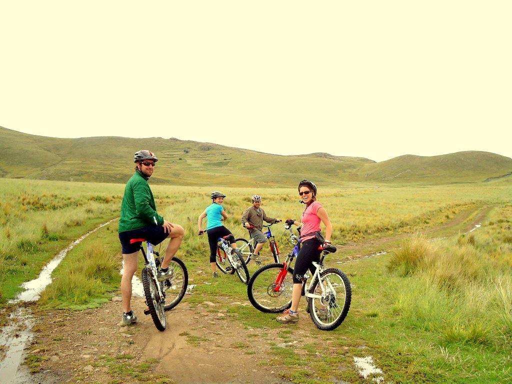 Paseo en bicicleta Chucuito