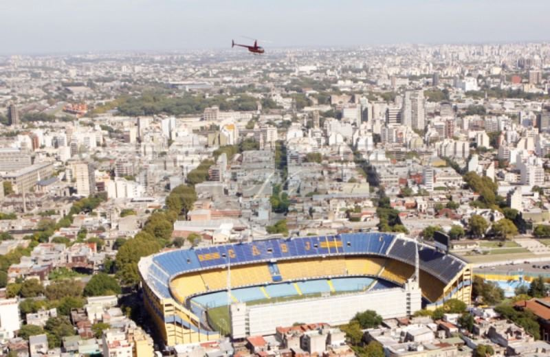 Buenos Aires Downtown Helicopter Tour 30 Minutes