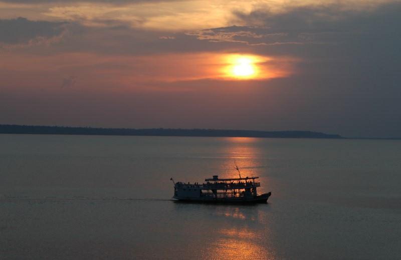 PASEO POR LA SELVA AMAZONICA - AVISTAJE NOCTURNO DE CAIMANES