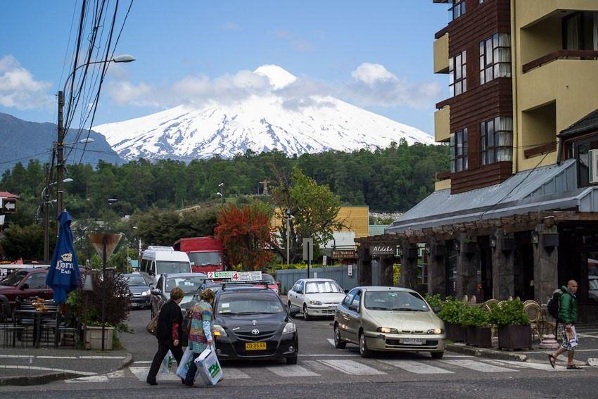 Crossing to Pucón and Villarrica Volcano from San Martín de los Andes