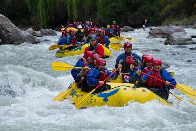 Rafting + Asado No Rio Maipo