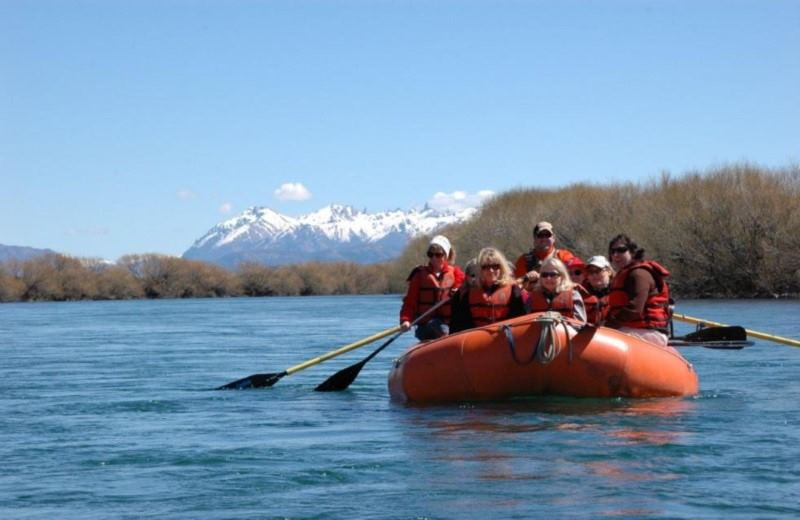Rafting Limay River