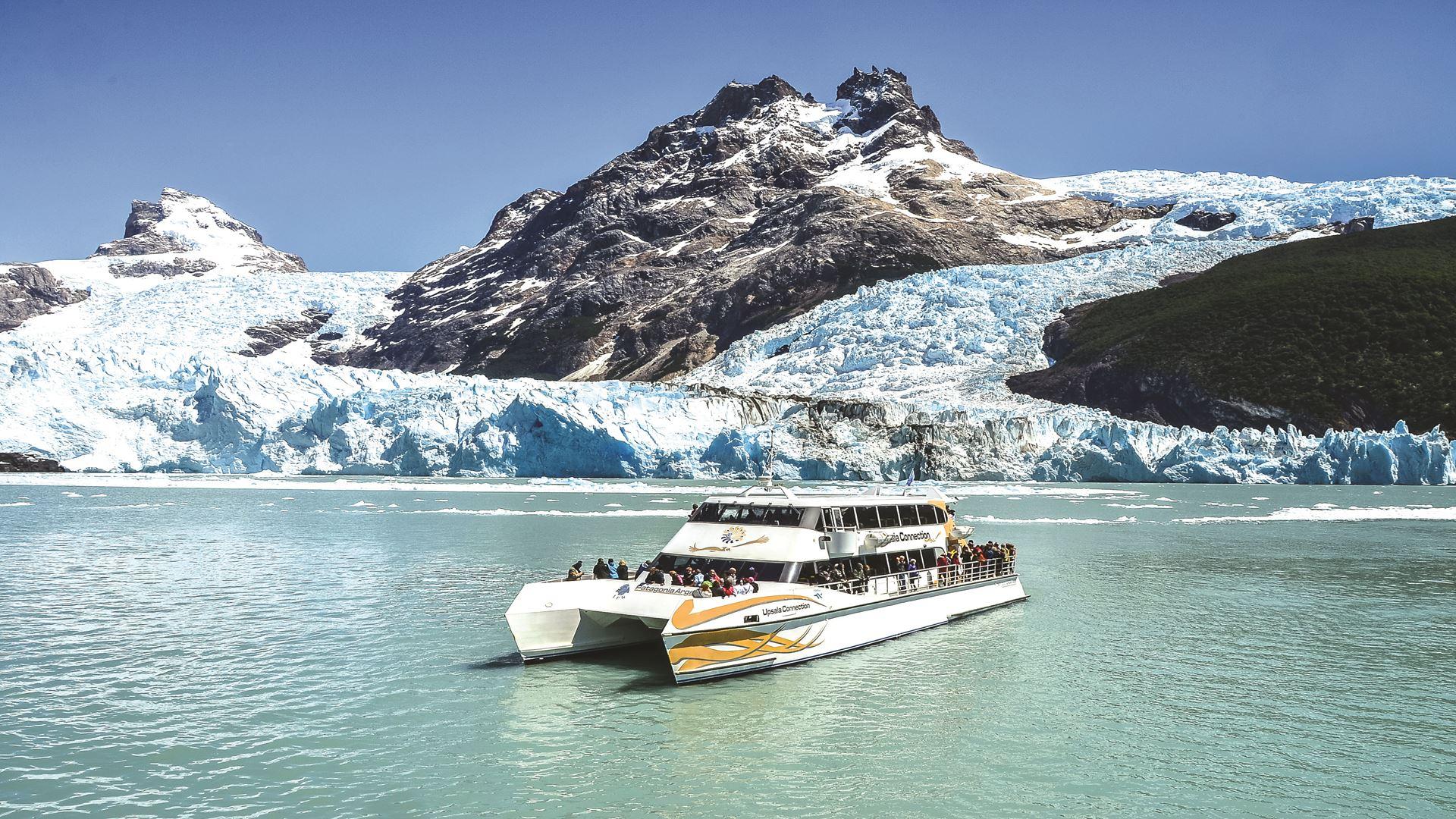 Patagonia Argentina Glaciers - Ríos de Hielo Boat Ride