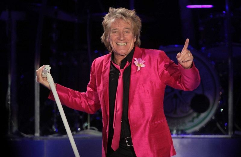Rod Stewart - Estadio Geba