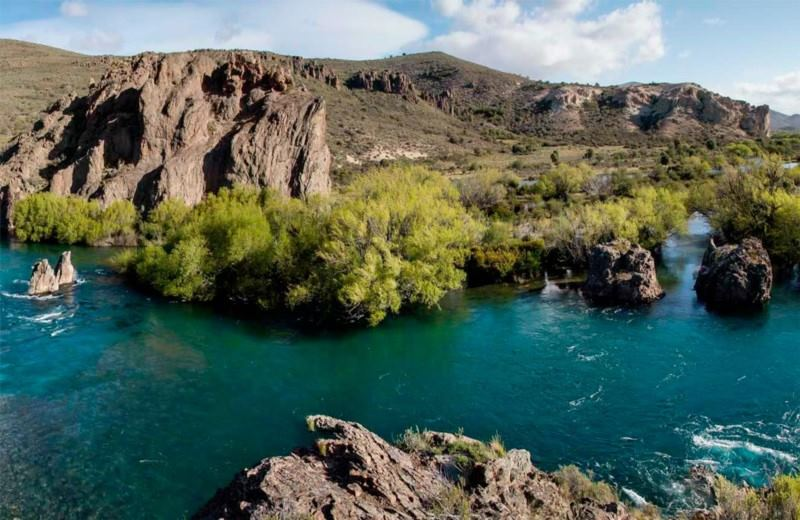 River And Lakes Of Limay