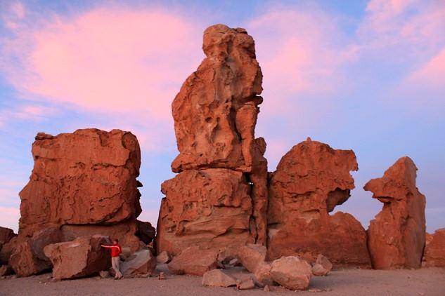 Uyuni Salt Flats - From Hito Cajon