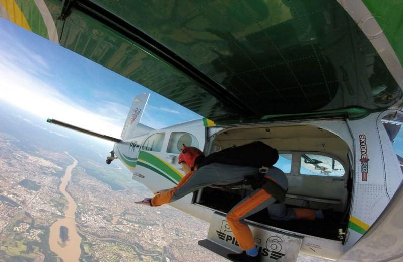Salto Tandem Em Paracaídas