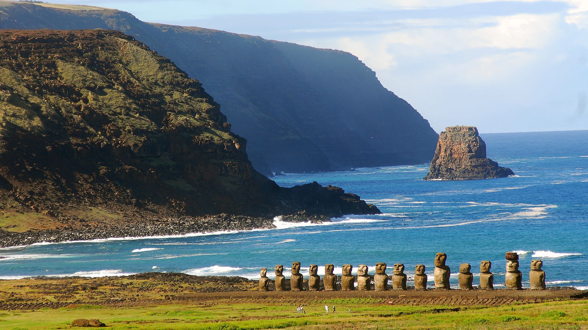 SANTIAGO AND EASTER ISLAND