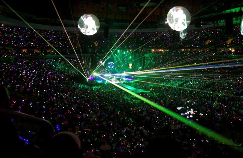 Coldplay Tour  Texas