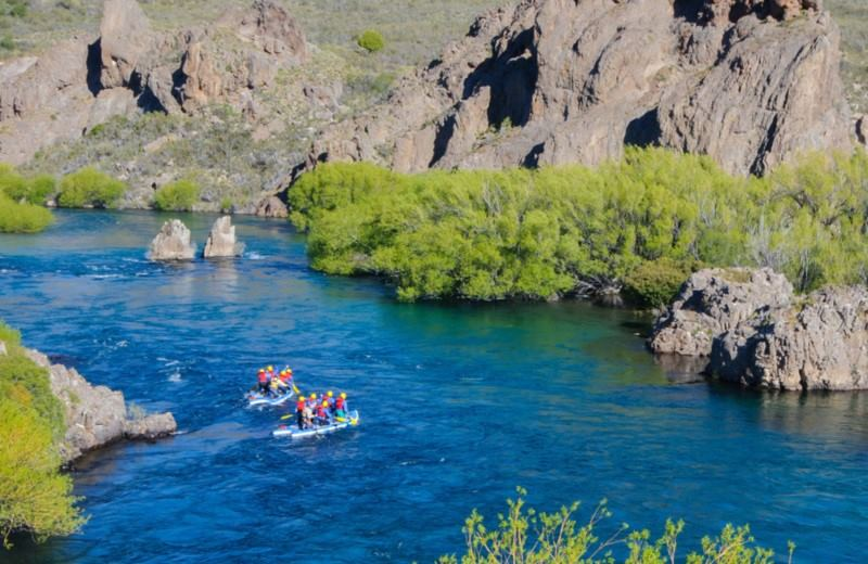 Stand Up Rafting Limay River